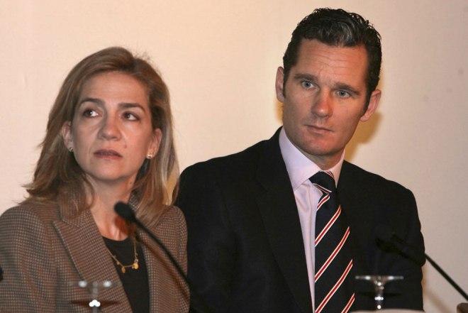 La Infanta Cristina y su esposo, Iñaki Urdangarín