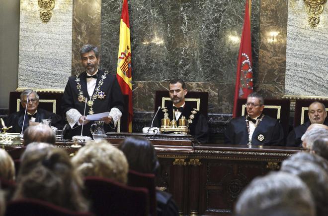 Un momento del acto de apertura del año judicial.