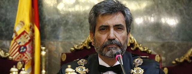 Carlso Lesmes, presidente del Tribunal Supremo y del Consejo General del Poder Judicial.